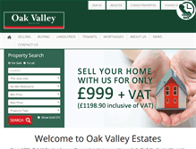 Tablet Preview of oakvalley.co.uk